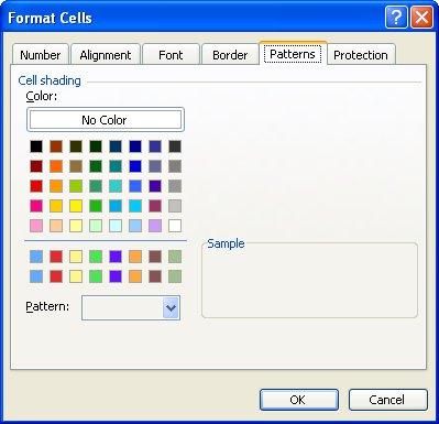 Format Cells