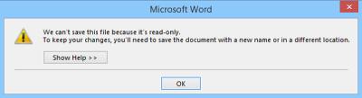 PDF Warning