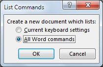 List Commands