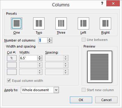 columns-dialog-box