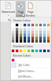 page-color