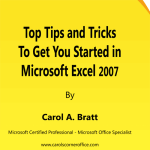 Microsoft Excel 2007 Tips and Tricks