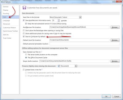 File Options Save