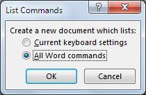 List Commands