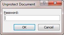 unprotect - document