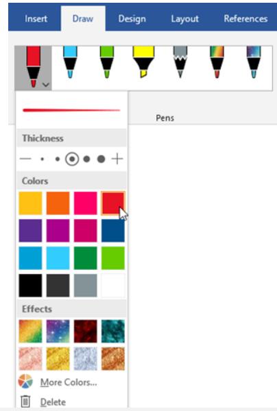 select-pen-color