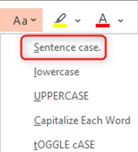 sentence-case